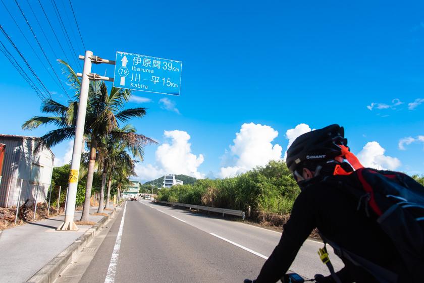 沖繩 石垣島 單車 油輪