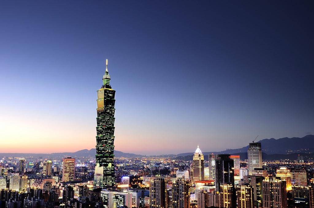 台北101夜景 象山