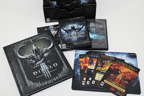 暗黑破壞神 3:奪魂之鐮 典藏版開箱