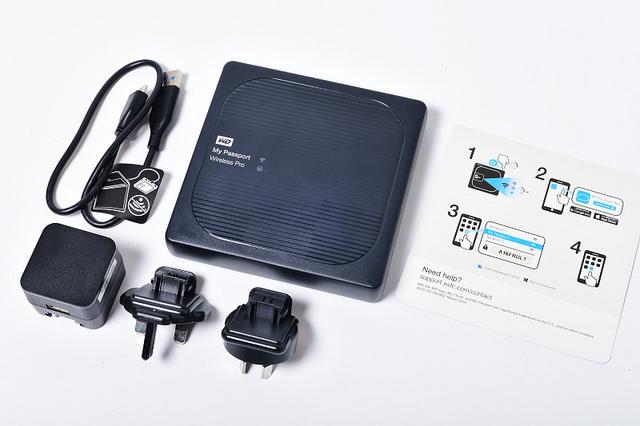 WD My Passport Wireless Pro 無線硬碟開箱