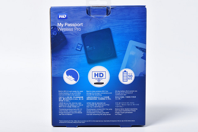 WD My Passport Wireless Pro 無線硬碟開箱