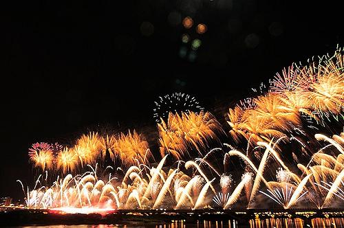 2012大稻埕煙火節 煙火照片