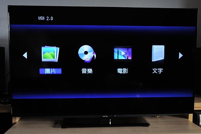 benq-50rv6500 大型LED背光電視開箱