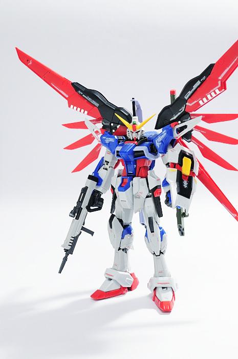 rg-destiny-gundam 命運鋼彈 素組